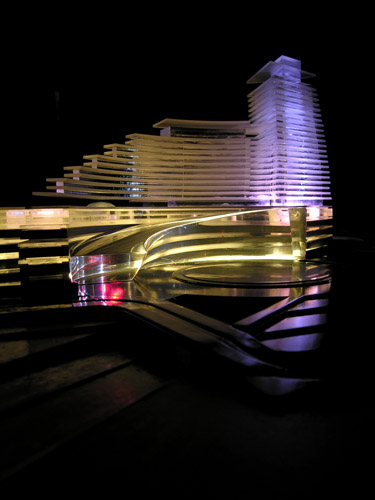model of Aftabe Sepahan,Naghshe-jahan-pars consulting,Architect:Hadi Mirmiran,Model Photographer:Dr.Omidvar
