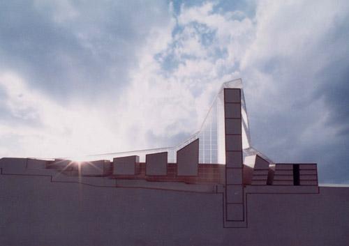 National library of tehran Model,Architect:NJP-Hadi Mirmiran,Model Photographer:Dr.Omidvar