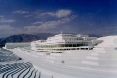National Library model, Architect:Pir e Raz, Model photographer:Dr.Omidvar