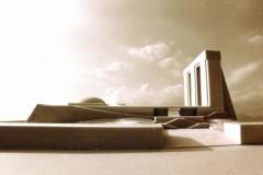 Cultural building,Architect:NJP-Hadi Mirmiran,Model Photographer:Dr.Omidvar
