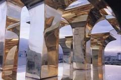 imam reza mosque model .architect and photographer Dr.Ata Omidvar