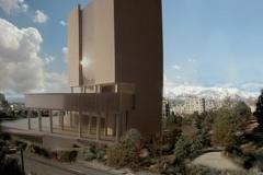 Ostandari Of Tehran Architect Mirmiran,model photographer:Dr.Omidvar ,photo montage:Dr.Omidvar