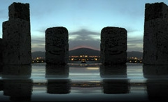 stone model desined for city.designer and photographer Dr.Omidvar