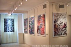 omidvar exhibition fakhteh ghallery 3