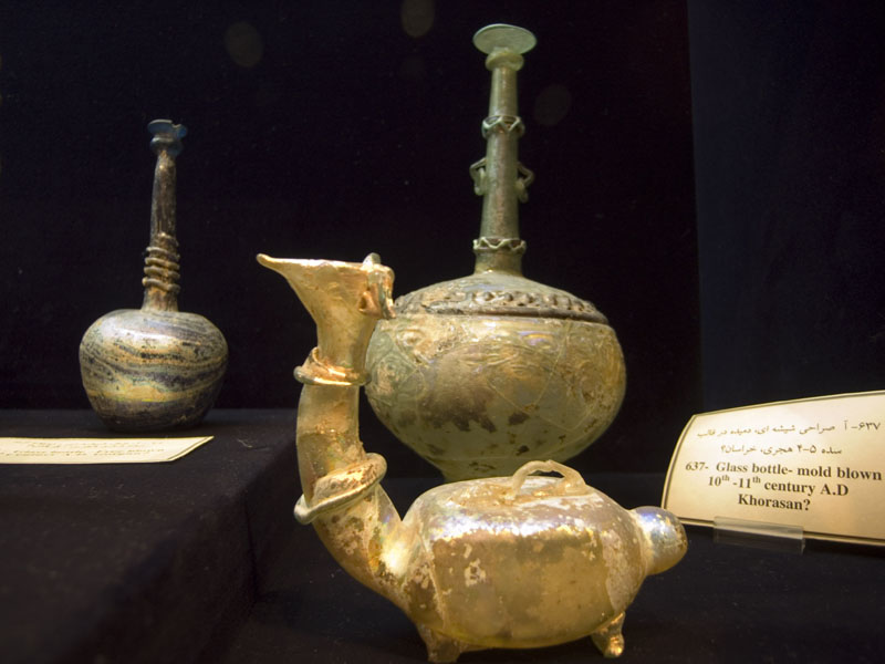 the glassware and ceramics museum of iran (Abgine Museum)