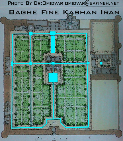 5plane baghe fine kashan