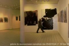 galerie du montparnasse exposition Ataollah OMIDVAR