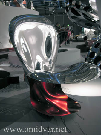 "Ron Arad ""no discipline"" exposition in centre-pompidou Photographer:Ata Omidvar"