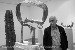 Shahlapour sculptures in Tehran's Museum of Contemporary Art