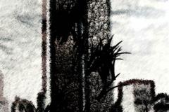 "Digital painting of \""Do not forget 11 september\"" By Dr.Omidvar"