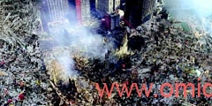 "Digital painting of ""Do not forget 11 september"" By Dr.Omidvar"