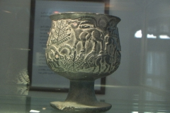 """The Jiroft culture is a postulated Early 3rd millennium BC archaeological culture located in what is now Iran's Sistan and Kerman Provinces. Jiroft, a small city in the southeastern province of Iran, Kerman, has become a center of archaeological interest after the 2001 flash flood revealed one of the """"forgotten and lost"""" civilizations of the ancient world."""