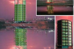 Sea control traffic tower of khark island project